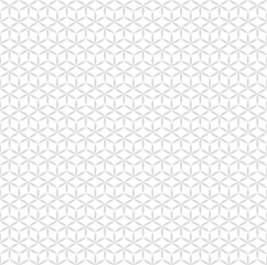 Seamless Pattern, Geometric pattern, Gray Background, Japan Style