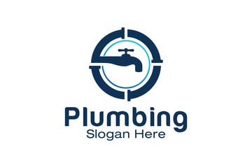 Plumbing Logo Design Template
