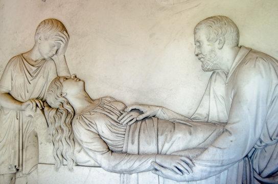 Kilmorey Mausoleum frieze, St Margarets