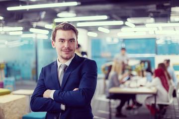 Portrait of successful Businessman