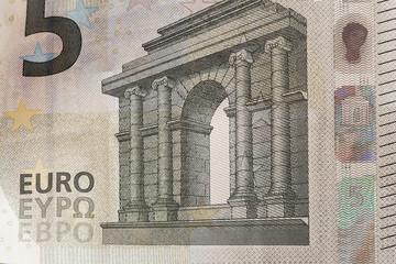 close up euro notes - Image.