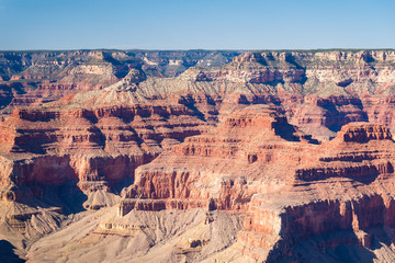 Grand Canyon National Park seen from South Rim. Grand Canyon National Park is one of the world's natural wonders.