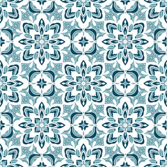 Seamless pattern with arabesques