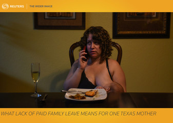 The Wider Image: What lack of paid family leave means for one Texas mother