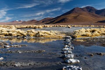 Region Altiplano w  Boliwii, Ameryka Południowa - fototapety na wymiar