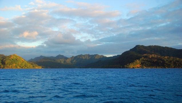 Raiatea landscape, French Polynesia