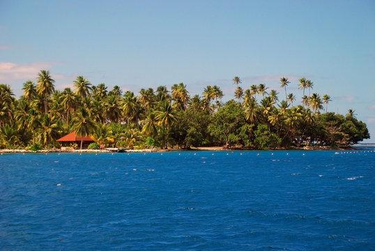 Exotic landscape, French Polynesia