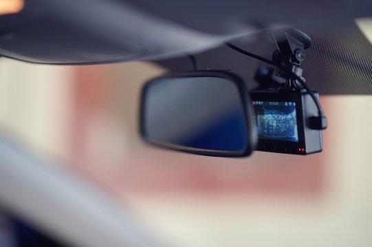 Recording  car dashcamera