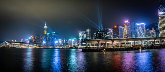 Fototapete - Honk Kong, November 2018 - beautiful city panorama