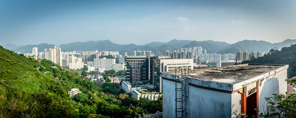 Fototapete - Honk Kong, November 2018 - beautiful city - panorama