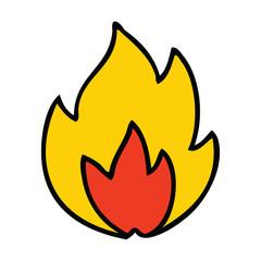 cute cartoon fire