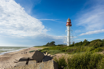 The Pape Lighthouse