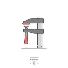 F-clamp - Line color icon