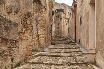 Matera village, Italy
