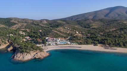 Tripiti beach. Thassos island, Greece