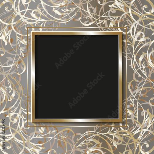 Wedding Card Illustration Invitation Frame In Bridal Shower