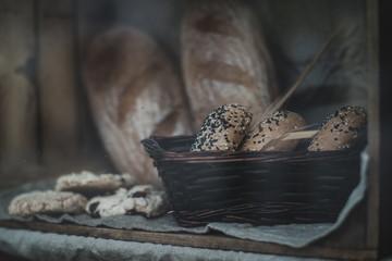 Chleb na witrynie