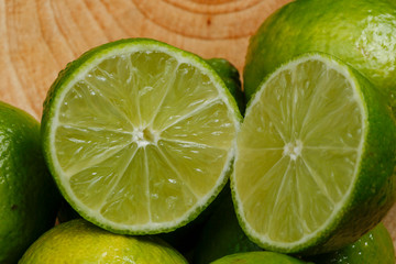Persian lime, also known Tahiti lime