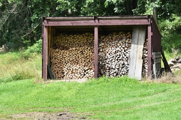 Shed for Firewood