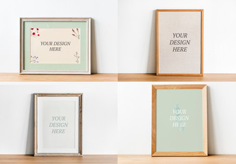 Four Frames Mockup
