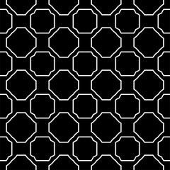 Seamless Pattern With Geometric, Triangle, Zig Zag. Vector Background, Texture. For Design Invitation, Interior Wallpaper, Cover Card, Technologic Design. Black white color