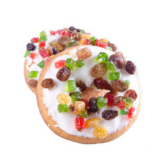 donut or donut with concept on a background.