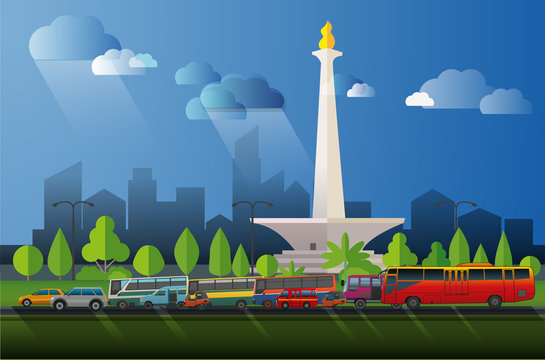 Jakarta Big city