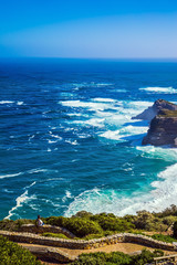 Cape of Good Hope in the Atlantic Ocean