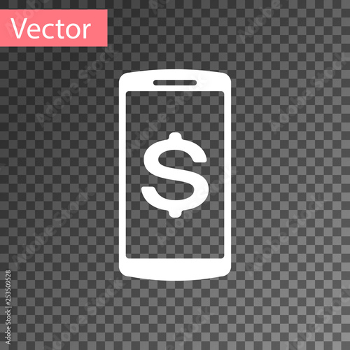 e786d8b987d Online shopping concept. Financial mobile phone icon. Online payment icon.  Vector Illustration