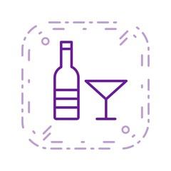 Illustration  Wine Icon