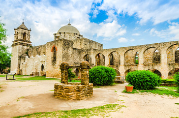 Mission San Jose. in San Antonio, Texas