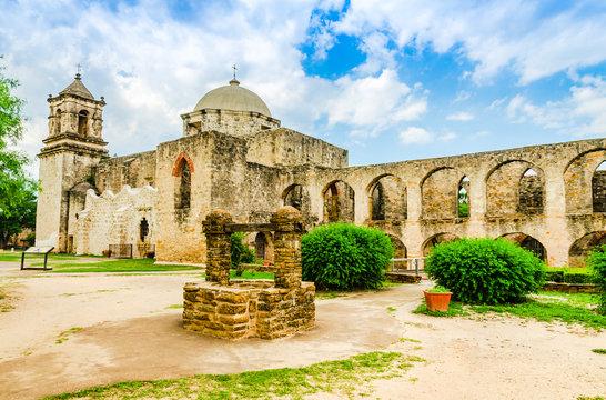 Mission San Jose. in San Antonio, Texas