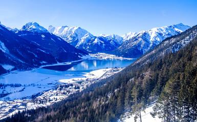 landscape near pertisau - austria