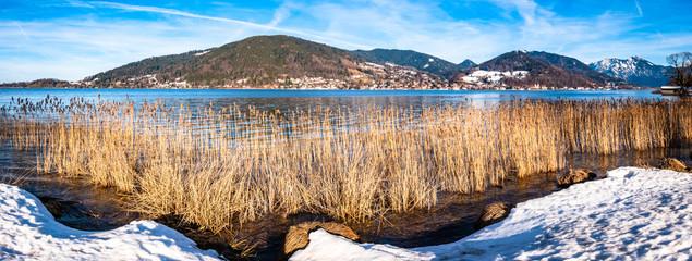 tegernsee lake - bavaria - germany