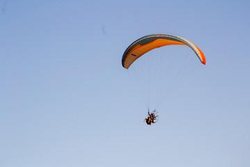 Paraglider - Praia Taperapuã - Bahia Brazil