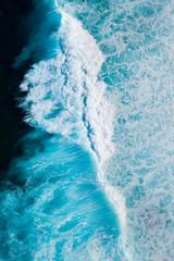 Autocollant pour porte Eau Waves and ocean, La Santa, Lanzarote Island, Unesco Biosphere Reserve, Canary Islands, Spain, Europe