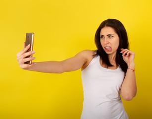 Girl Make Selfie