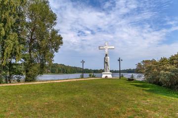 Latin Cross Sculpture, Latvia