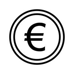 Illustration Euro  Icon