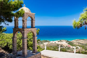 Monastery of Agios Ioannis Thymianos at Kos island, Greece Fototapete