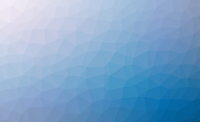 Abstract blue colorful lowploly of many triangles background for use in design. EPS10 vector