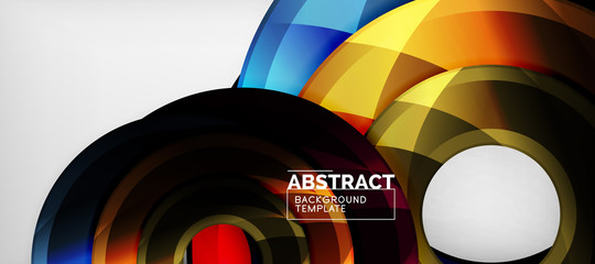 Modern geometrical abstract background, vector design