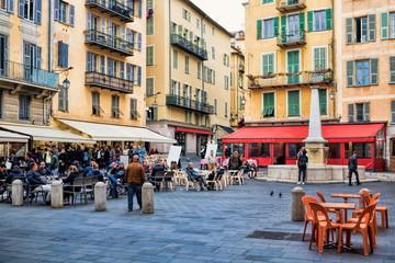 Place Sainte Reparate in Nizza, Frankreich