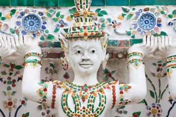 Caryatid at Wat Arun
