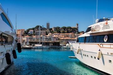 Yachthafen in Cannes, Frankreich