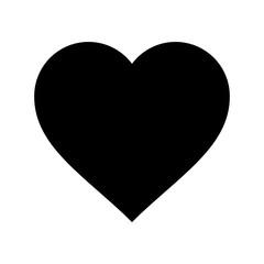 Fototapeta serce ikona obraz