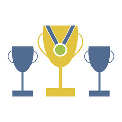 Trophies And Medals Vector