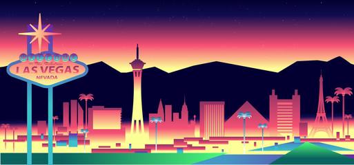 Fototapete - Las Vegas Skyline