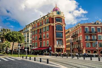 Stadtzentrum in Nizza, Frankreich
