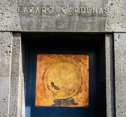 Lazaro Cardenas 1910 Revolution Monument Mexico City Mexico